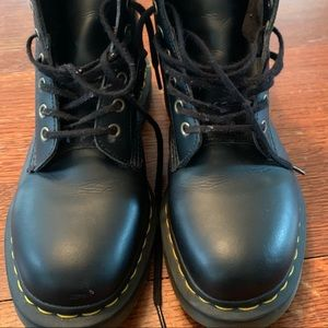 Dr. Martens 1460 combat boots. Smooth